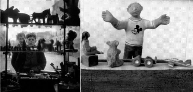 bambini vetrine giochi